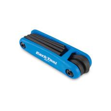 Park Tool AWS-11, Folding hex wrench set, 3mm, 4mm, 5mm, 6mm, 8 et 10mm