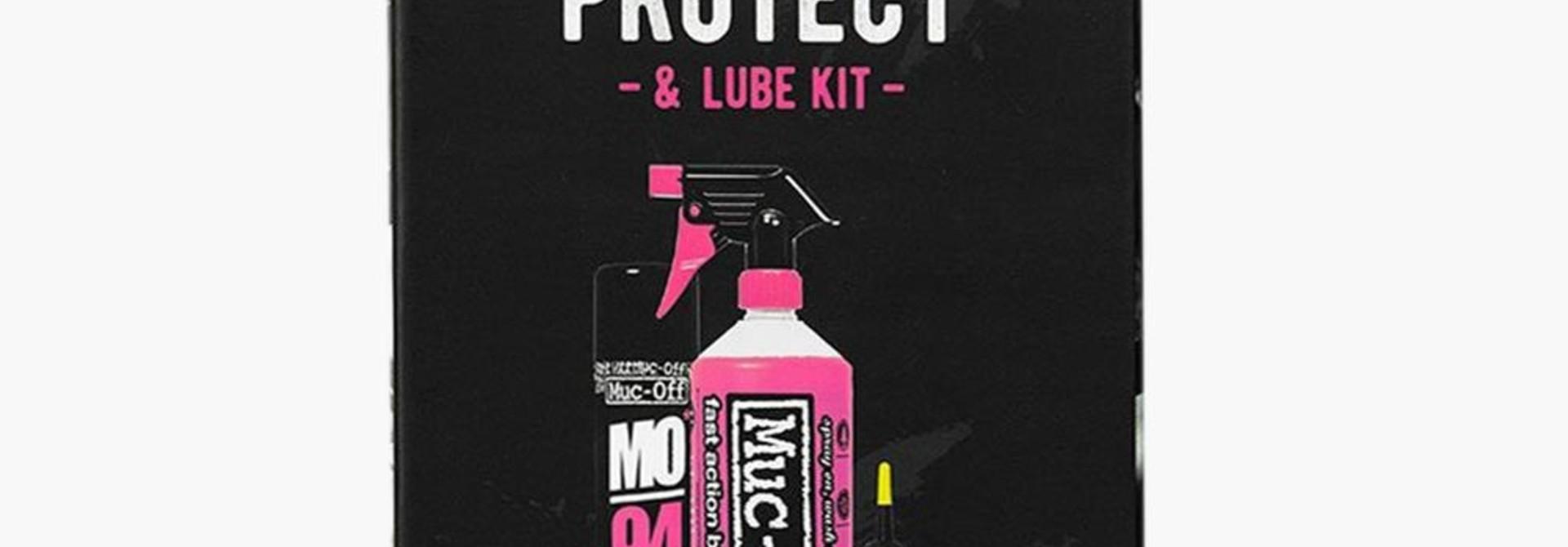 Wash-Protect-Lube, Trousse d'entretien de vélo, Dry