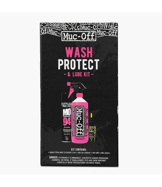 Muc-Off Wash-Protect-Lube, Trousse d'entretien de vélo, Dry
