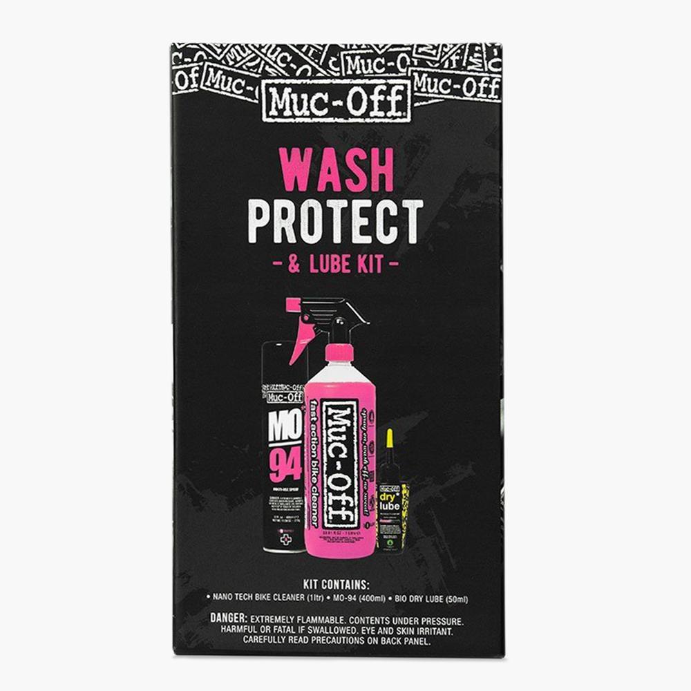 Wash-Protect-Lube, Trousse d'entretien de vélo, Dry-1