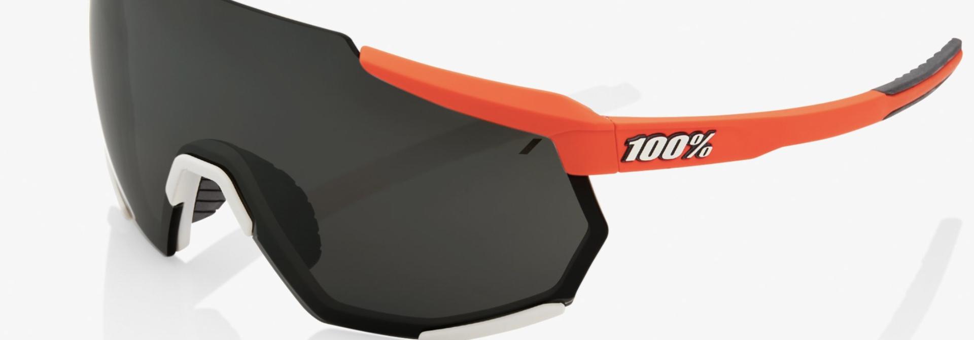 Racetrap Sunglasses, Soft Tact Oxyfire frame - Black Mirror Lens