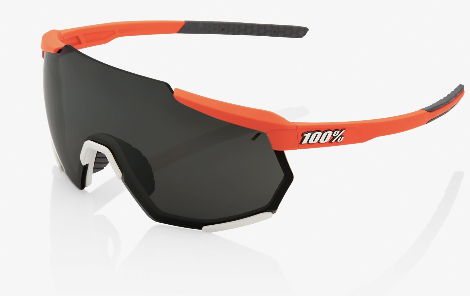 Racetrap Sunglasses, Soft Tact Oxyfire frame - Black Mirror Lens-1