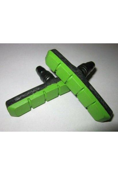 Promax B-2 Air Flow Brake Pads - 70mm - Green