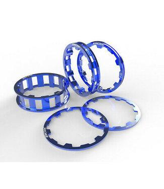Box Zero Headset Spacer Kit - 1-1/8'' - Blue