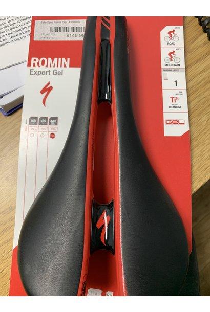 ROMIN EXPERT GEL SADDLE - Black 143