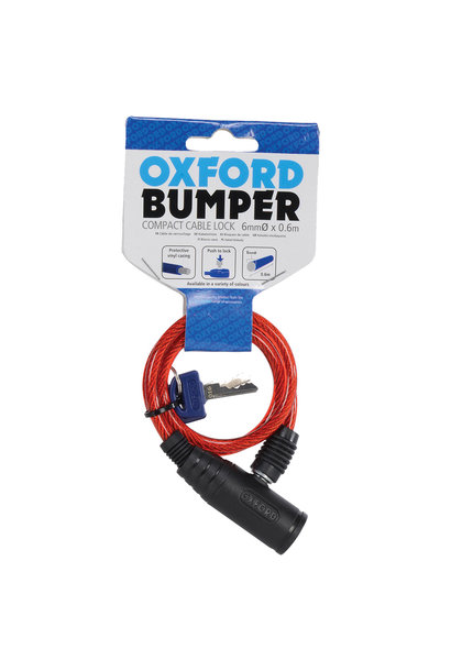 Bumper cable lock