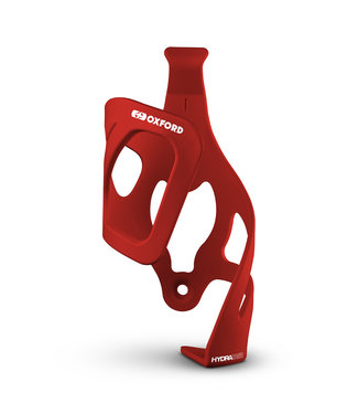 Oxford Hydra Right-Side Pull Bottle Cage Matt Red