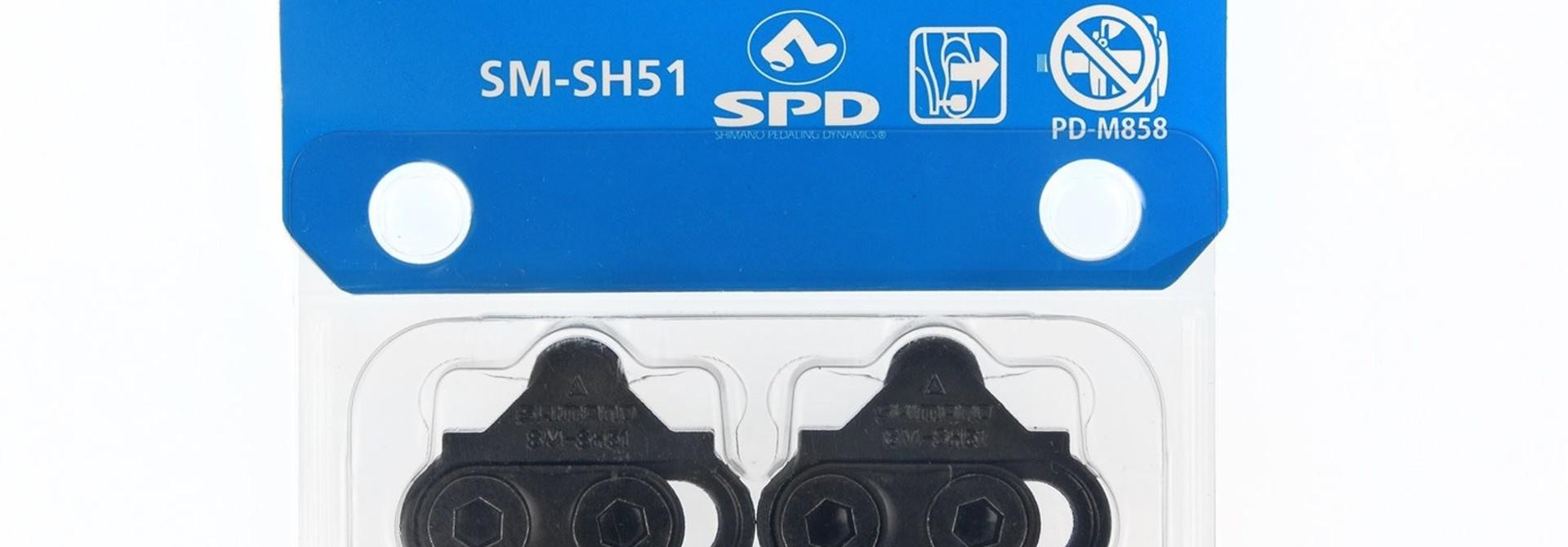 SPD Cleat Set Noir SM-SH51