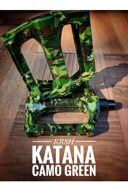 Katana Camo Pedals