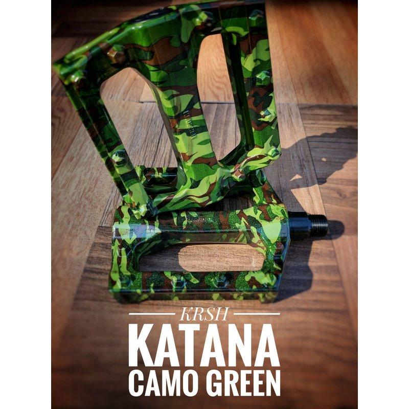 Krusher Katana Camo Pedals