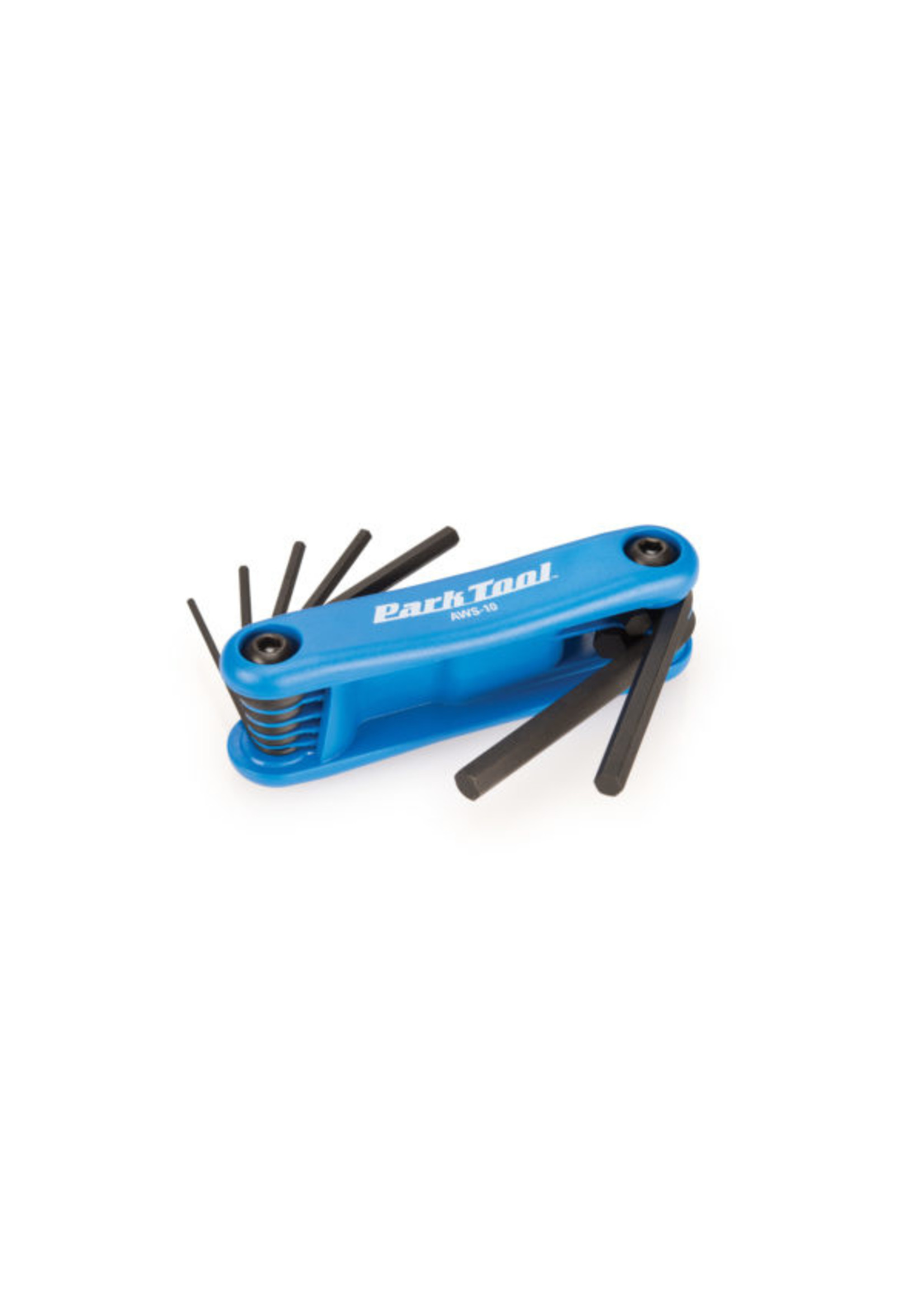 Park Tool AWS-10, Folding hex wrench set, 1.5mm, 2mm, 2.5mm, 3m, 4mm, 5mm and 6mm