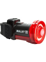 NiteRider Bullet 200 Rechargeable Rear Tail Light