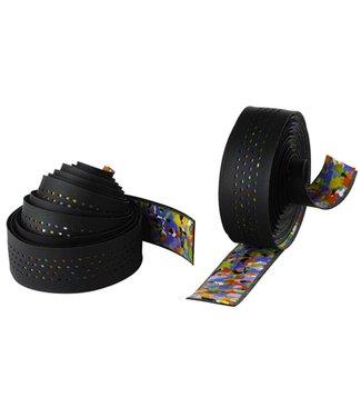 Caleido Ribbon Multidensity Handlebar Tape - Black