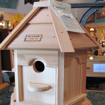 HOUSES WOODY'S PLAIN/PLAIN GAZEBO BIRD HOUSE