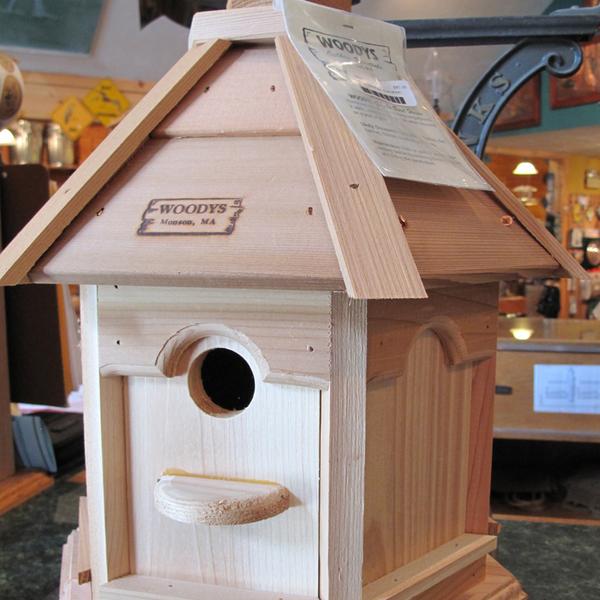 HOUSES WOODY'S PLAIN/PLAIN GAZEBO BIRD HOUSE
