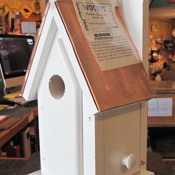 HOUSES WOODY'S CHARLOTTE CHALET BIRD HOUSE