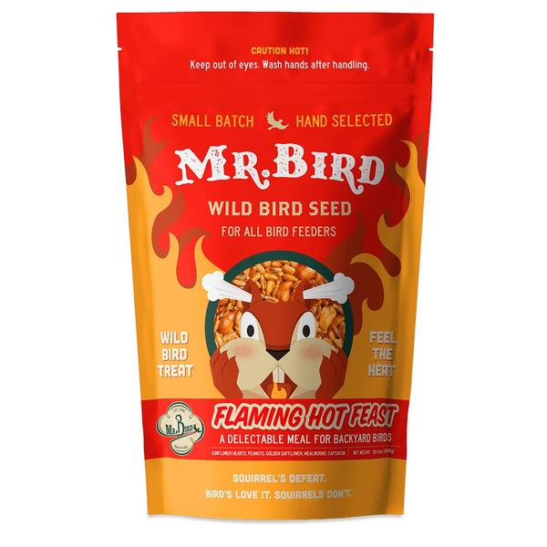 FEED MR BIRD FLAMING HOT FEAST 4LB BAG