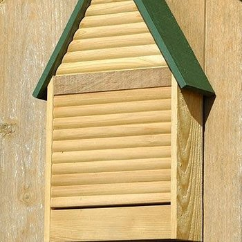 HOUSES HEARTWOOD BAT LODGE NATURAL W/GREEN ROOF