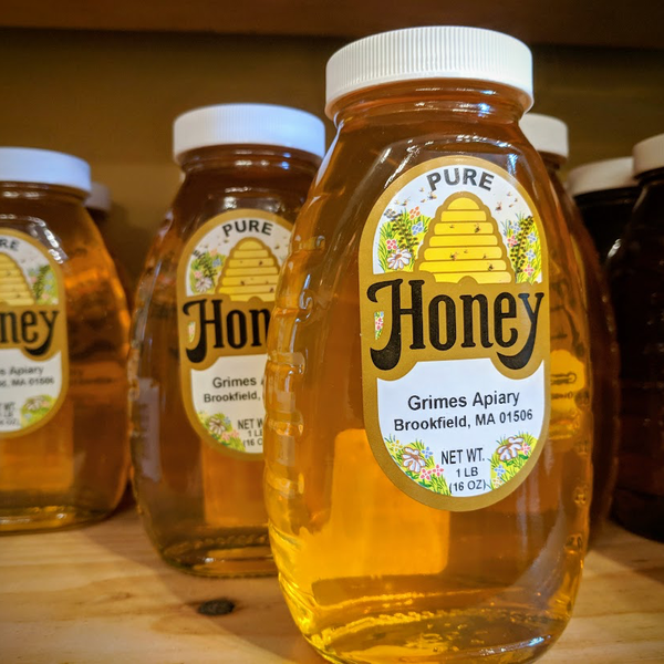 FOOD HONEY 1LB GRIMES