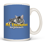 HHOLD EARTH SUN MOON CAT THERAPIST MUG 15 OZ.