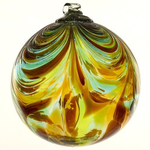 """HHOLD KITRAS FEATHER ORB 6"""" BELONGING"""