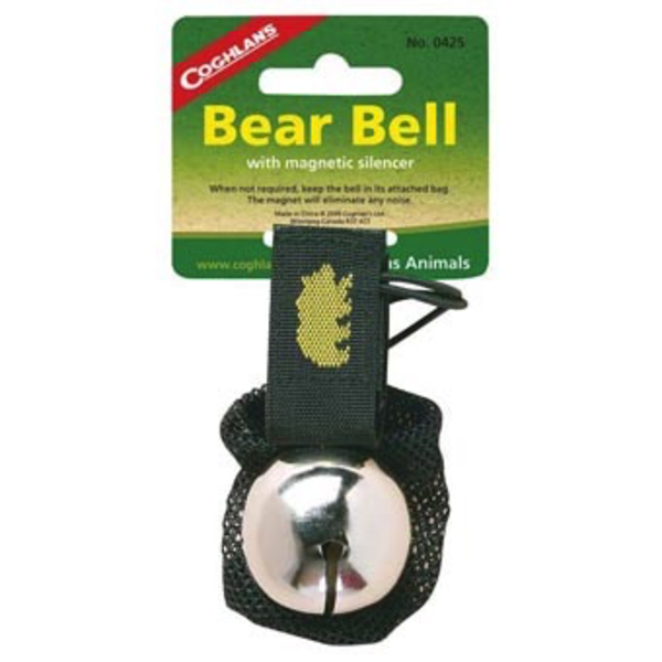 OUTDOORS COGHLANS BEAR BELL WITH MAGNETIC SILENCER