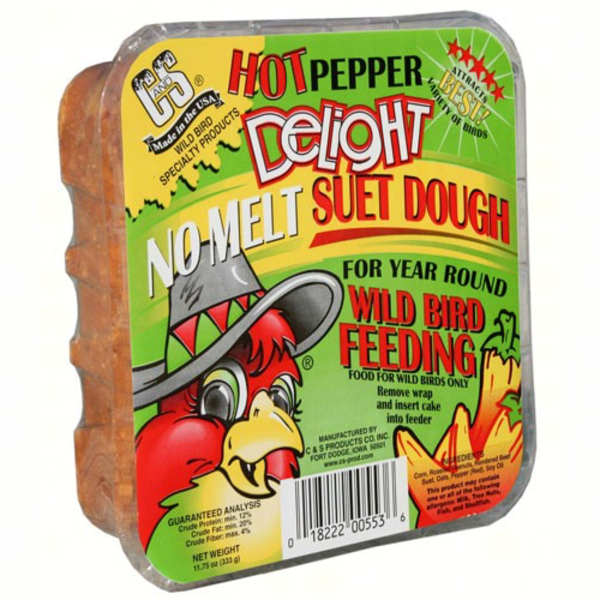 FEED C+S HOT PEPPER DELIGHT SUET 553