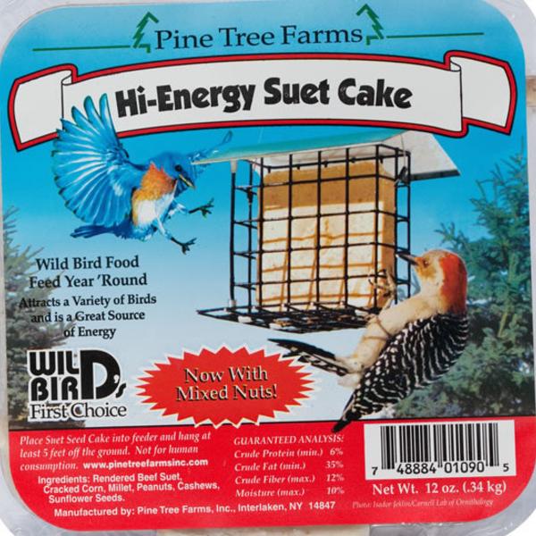 FEED PINE TREE HIGH ENERGY SUET