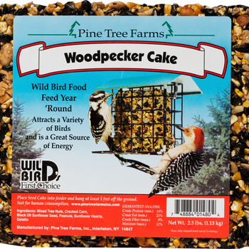 FEED PINE TREE WOODPECKER SEED CAKE