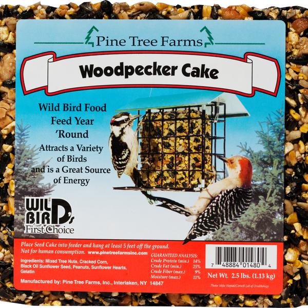 FEED PINE TREE WOODPECKER SEED CAKE