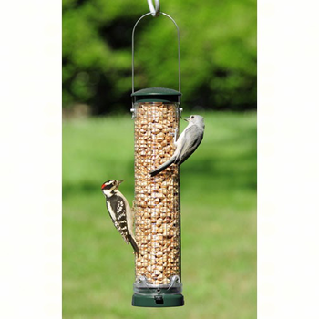 "FEEDERS ASPECTS 12"" PEANUT QUICK CLEAN MESH FEEDER SPRUCE"
