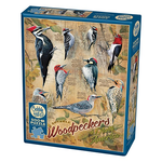PUZZLES COBBLE HILL NOTABLE WOODPECKERS  PUZZLE 500PC.