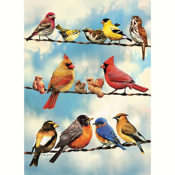 PUZZLES COBBLE HILL BLUE SKY BIRDS TRAY PUZZLE 35PC