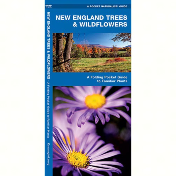 GUIDE POCKET NATURALIST: NEW ENGLAND TREES AND WILDFLOWERS FOLDING GUIDE