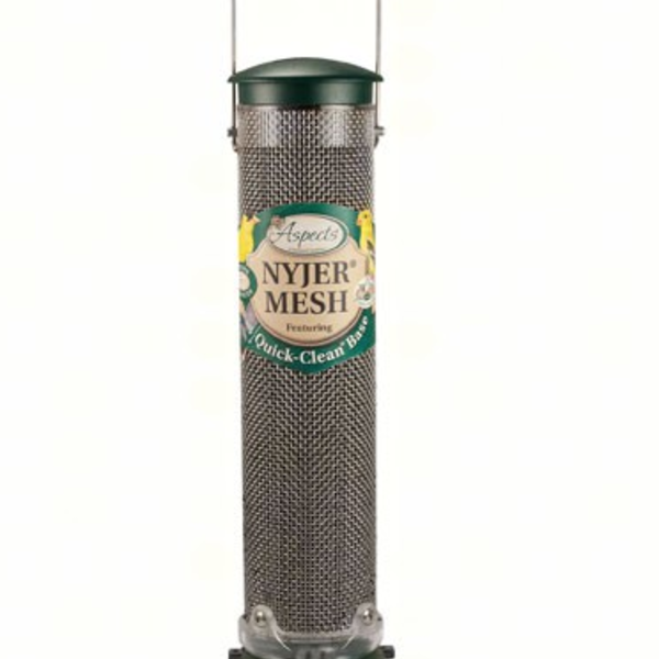 """FEEDERS ASPECTS 12"""" NYJER QUICK CLEAN MESH FEEDER"""