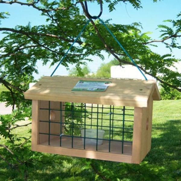 FEEDERS SONGBIRD ESSENTIALS PROTECTED BLUEBIRD JAIL FEEDER