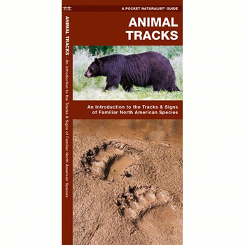 GUIDE POCKET NATURALIST: ANIMAL TRACKS FOLDING GUIDE