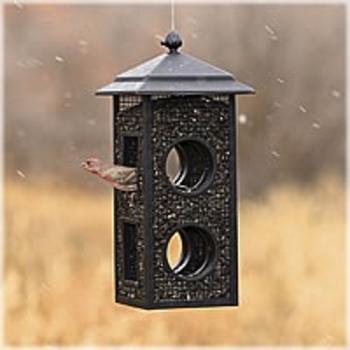 FEEDERS PERKY PET FLY THROUGH WILD BIRD FEEDER