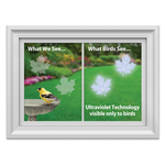 HHOLD WINDOW ALERT MAPLE LEAF DECAL 4 PK