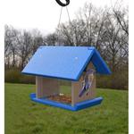 FEEDERS SONGBIRD ESSENTIALS RECYC. BLUEBIRD MEALWORM FEEDER BLUE/GREY