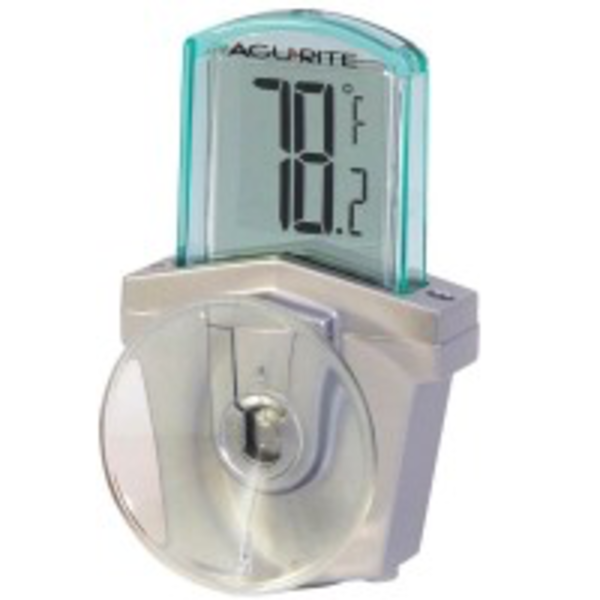 WEATHER ACCURITE DIGITAL THERMO-METER SUCTION