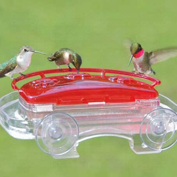 FEEDERS ASPECTS HUMMINGBIRD JEWELBOX WINDOW FEEDER