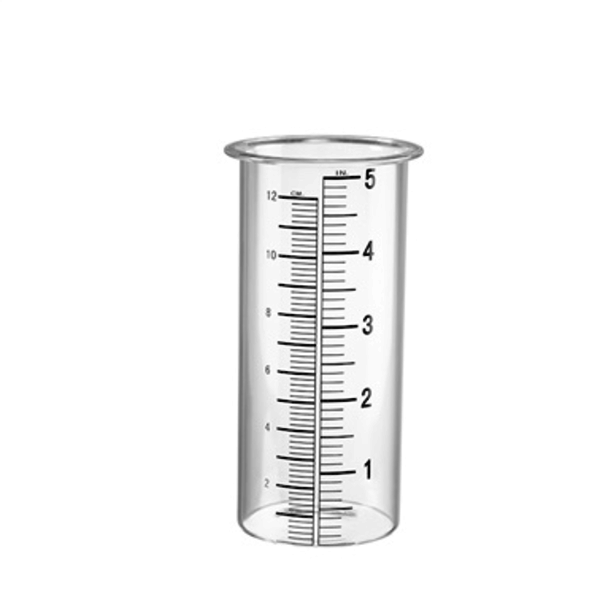 ACCESSORY SPI REPLACEMENT GLASS RAIN GAUGE WIDE