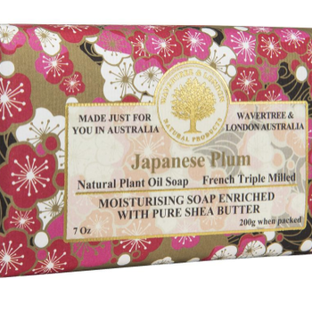HHOLD AUSTRALIAN NATURAL SOAP JAPANESE PLUM 7 OZ