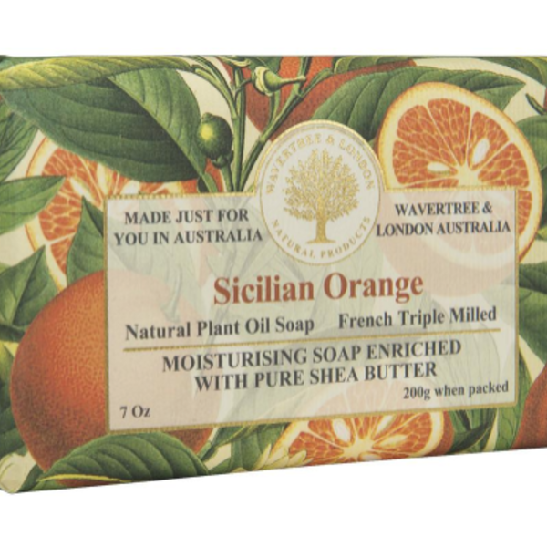 HHOLD AUSTRALIAN NATURAL SOAP SICILIAN ORANGE 7 OZ