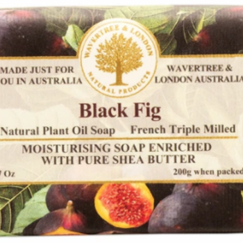 HHOLD AUSTRALIAN NATURAL SOAP BLACK FIG 7 OZ