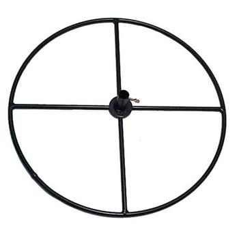 "HARDWARE ERVA ROUND PATIO POLE BASE 24"" PAT1"