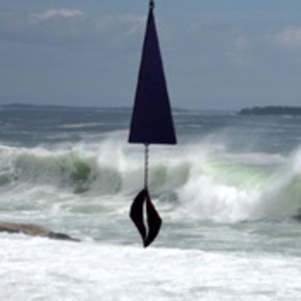 GARDEN NORTH COUNTRY WIND BELLS SEA MELODY BUOY BELL