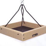 FEEDERS BIRDS CHOICE RECYCLED 10X10 HANGING TRAY FEEDER
