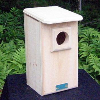 HOUSES COVESIDE SAW-WHET OR SCREECH OWL HOUSE 10062